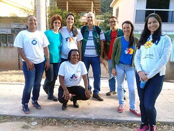 Servidores da SEMMAM e agentes de saúde estiveram no bairro Bicuíba na sexta (09)/Arquivo Pessoal