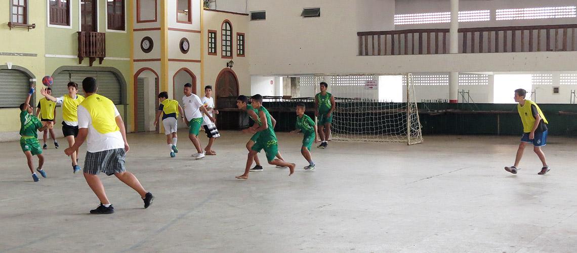 Atividades esportivas e lúdicas vão manter a prática esportiva e levar lazer aos jovens - Ascom/PMVNI