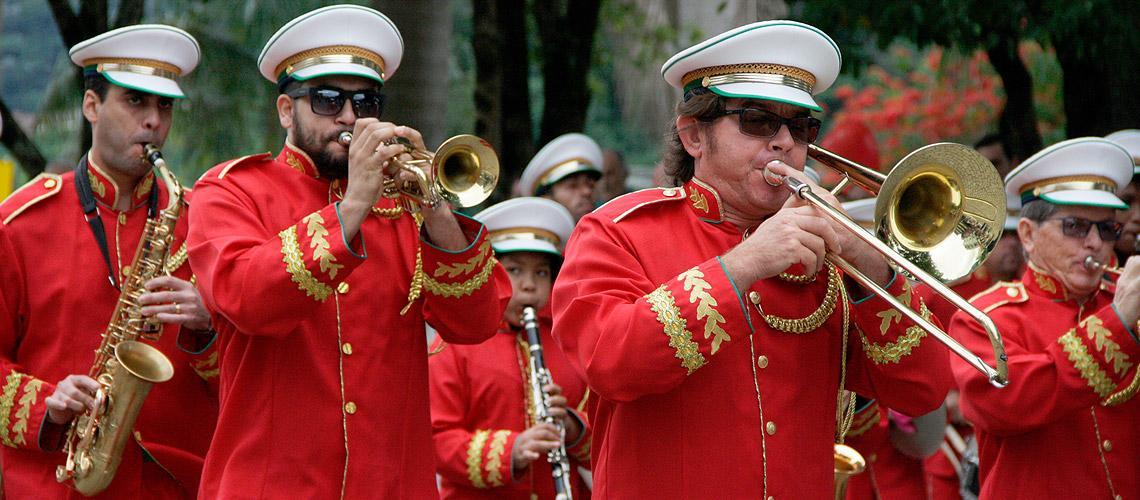 Banda é tradicional em Venda Nova do Imigrante - Ascom/PMVNI