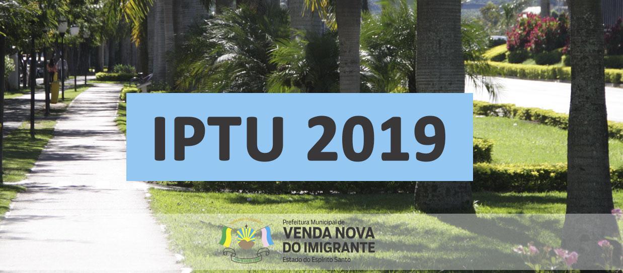 Cota única e primeira parcela do IPTU vencem no dia 30 de setembro