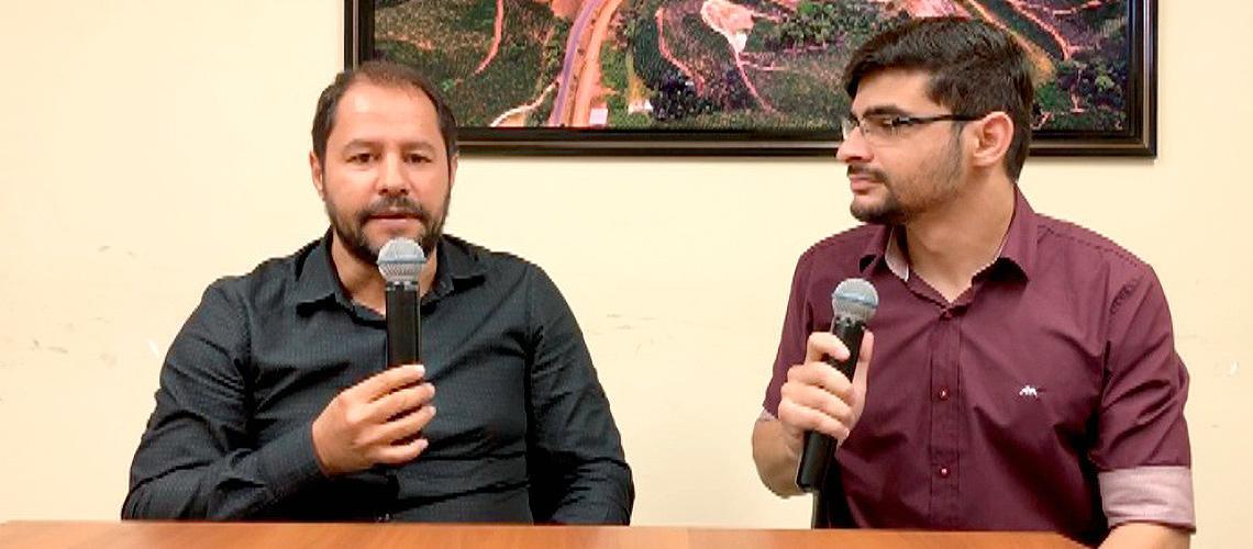 Rogério Dela Costa foi o primeiro entrevistado do Venda Nova em Dia - Ascom/PMVNI