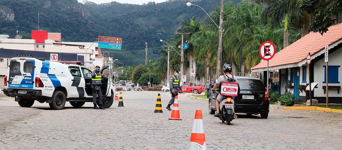 Polícia Militar é parceira e colabora com o trabalho - Ascom/PMVNI