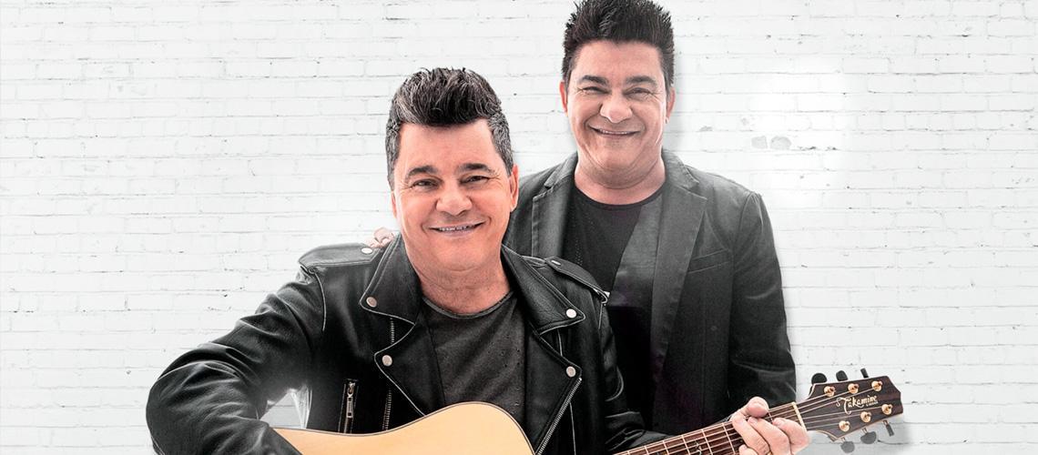Cezar e Paulinho vão fazer o som para quem gosta do sertanejo - Divulgação
