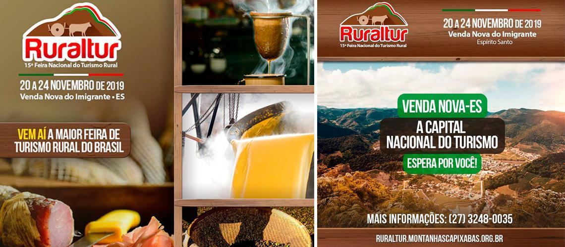 Venda Nova recebe a maior feira de turismo rural do país, de 20 a 24 de novembro
