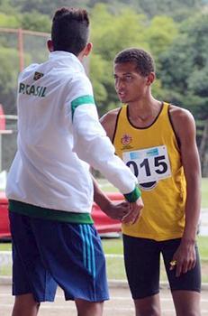 <b>Título:</b>Luan também é um nome de destaque entre os atletas vendanovenses - Arquivo Pessoal