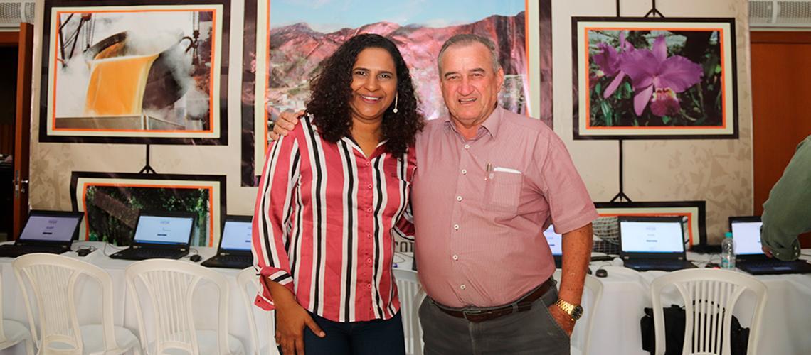 Prefeito Braz Delpupo e a vice-governadora Jaqueline Morais falaram sobre a importância das audiências públicas - Ascom/PMVNI