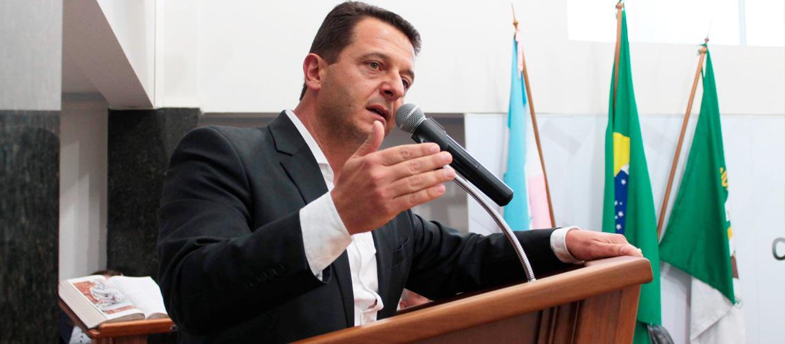Paulinho Mineti reforçou o compromisso com os interesses da comunidade vendanovense - Ascom/Câmara Municipal