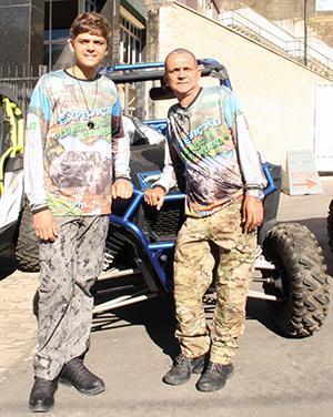Pai e filho fazem a expedição juntos - Ascom/PMVNI