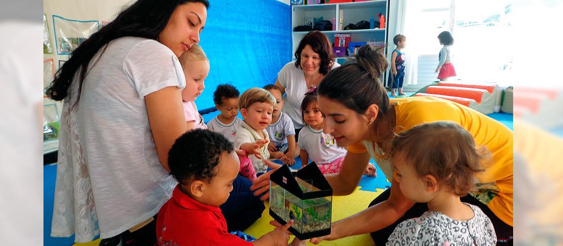 Crianças e adultos são sensibilizados a cuidar do meio ambiente - Arquivo pessoal