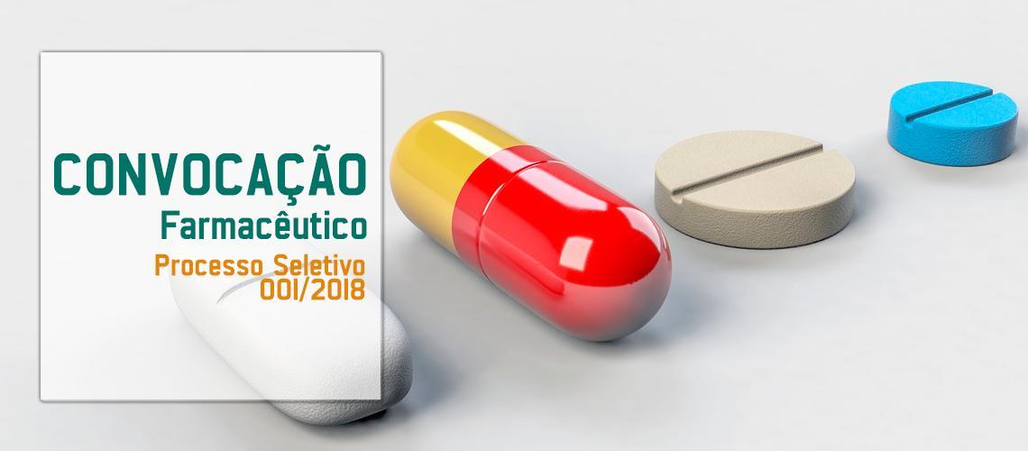 Saúde farmacêutica aprovada em seleção