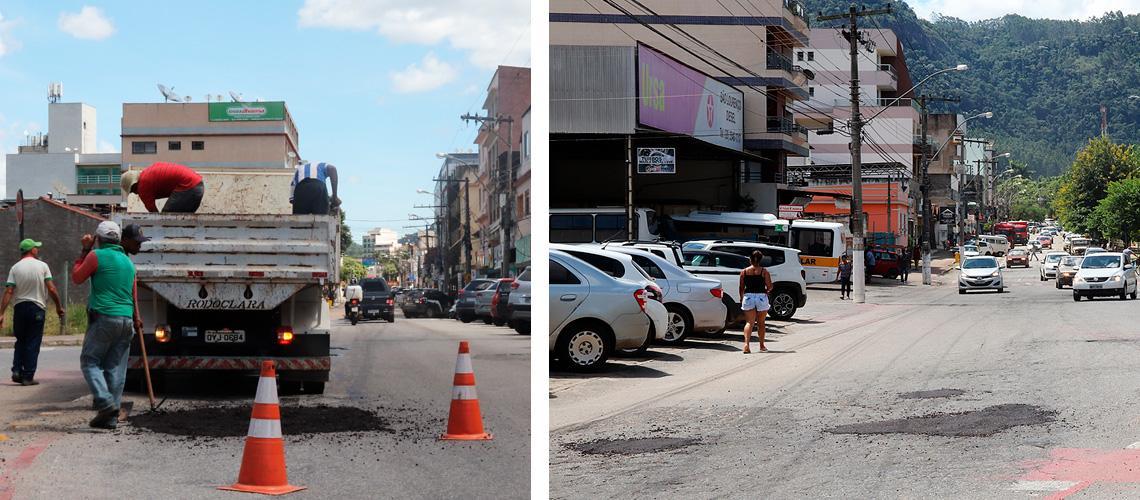 Prefeitura inicia operação tapa buracos em Venda Nova