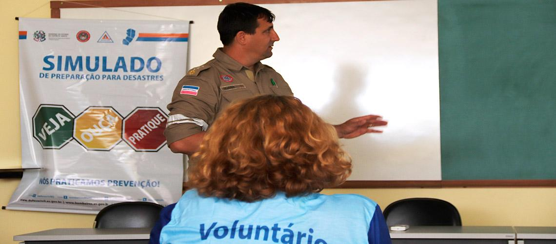 Reunião no dia 27 esclareceu dúvidas e ajudou na preparação do simulado - Ascom/PMVNI